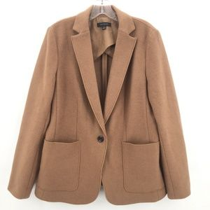 Like New Anne Taylor camel mohair coat